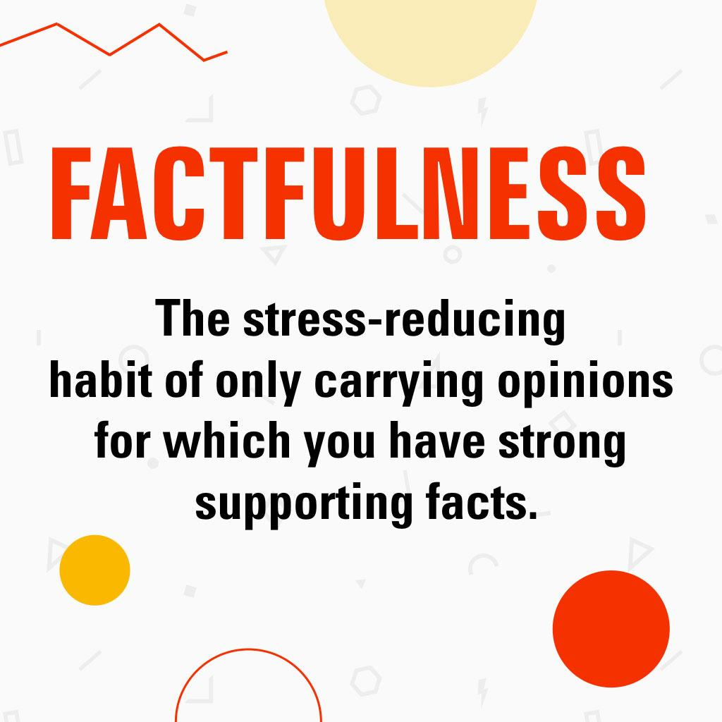 defintion of FACTFULNESS